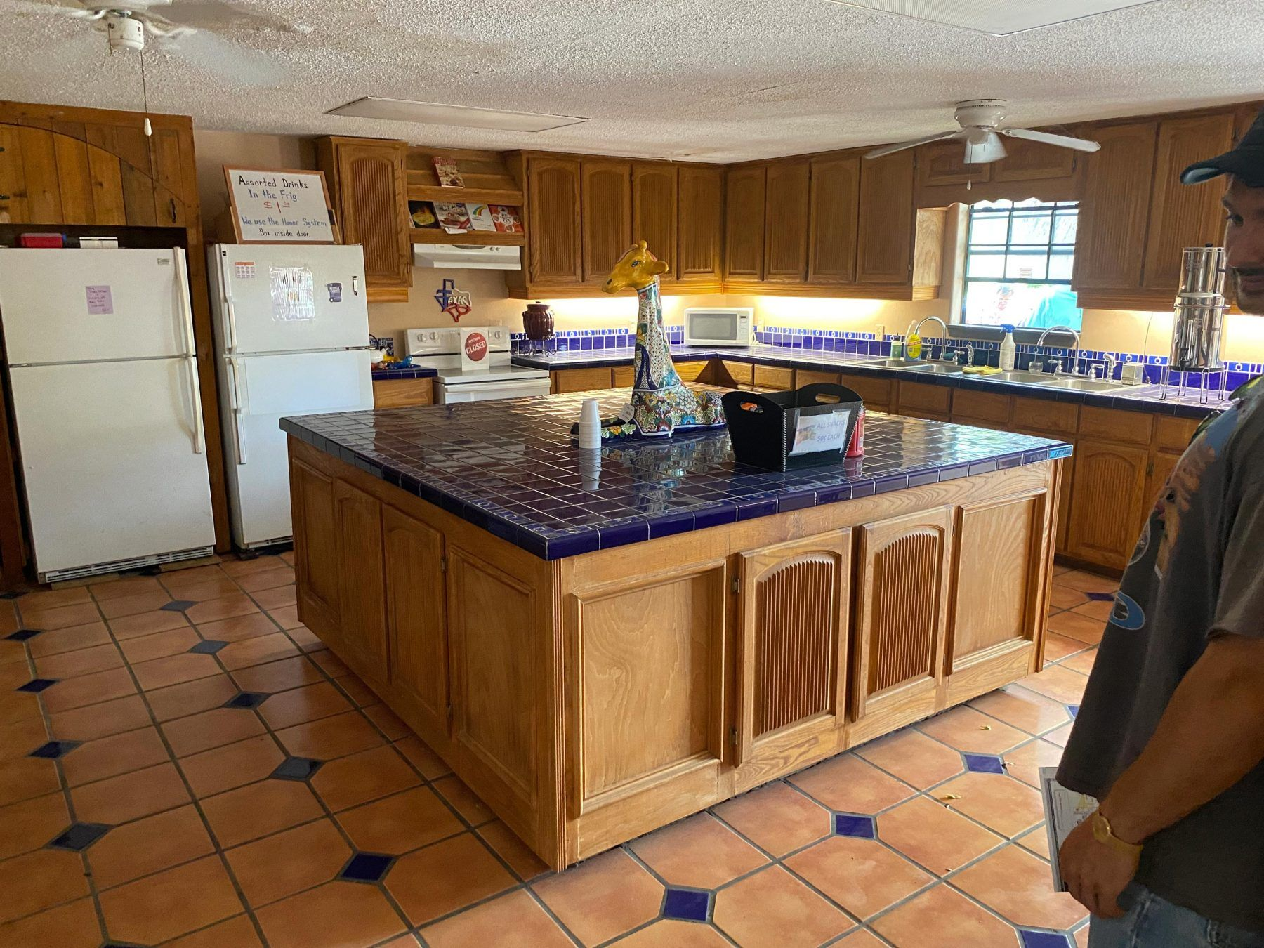 Our Clubhouse Kitchen has plenty of space to entertain